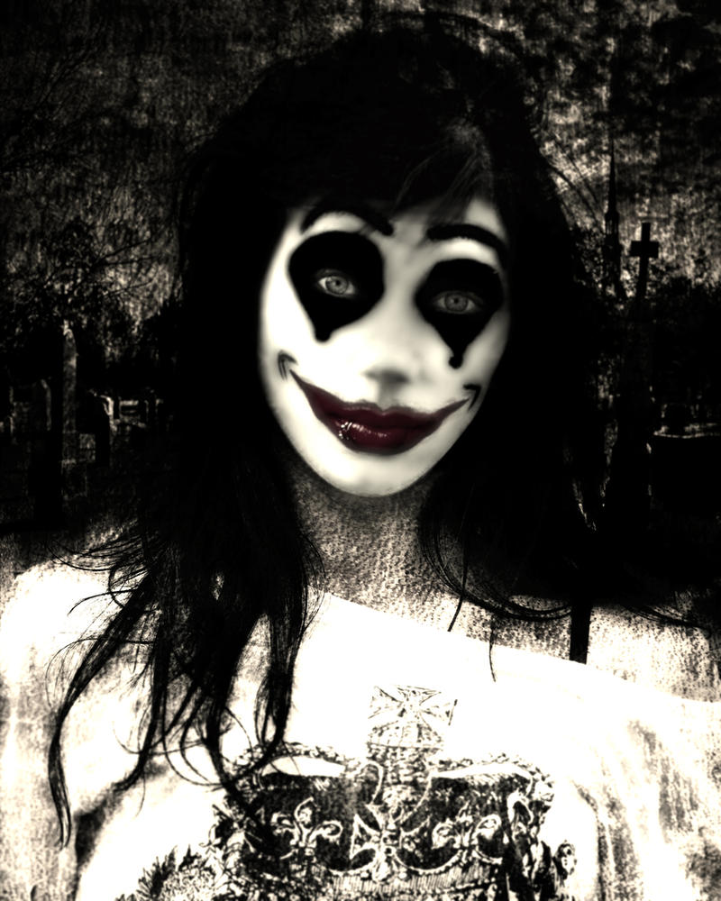 Finch THe Evil Clown by damienjamesofarrell