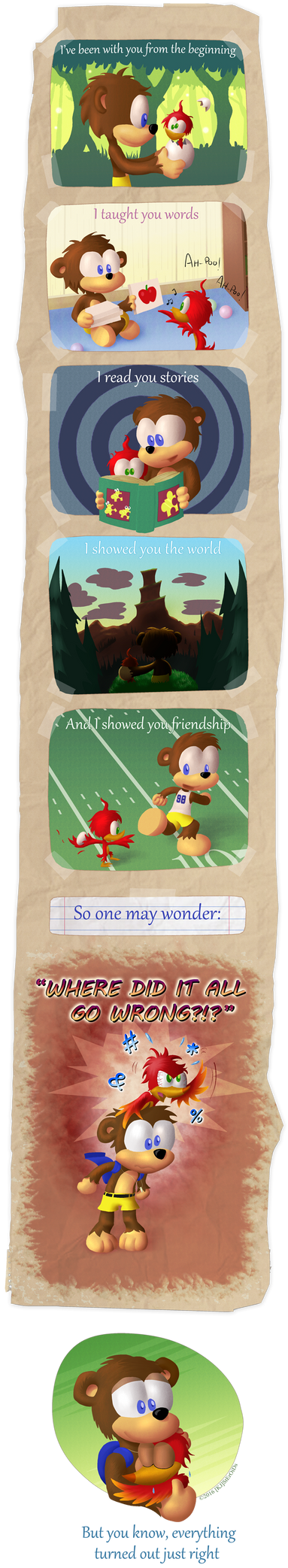 Chronicles of Bear and Bird by kjsteroids