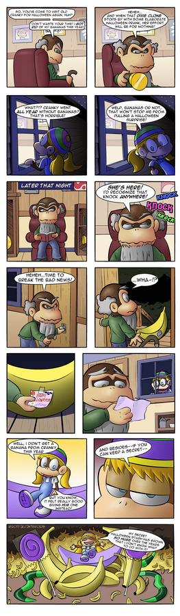 Tiny Kong: Halloween Hoarder