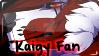 Kaigy Fan Stamp by xKoday
