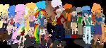 Dash Academy main cast by Cybiline