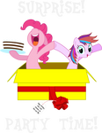 Pinkie Pie and Tiara Colour: SURPRISE!