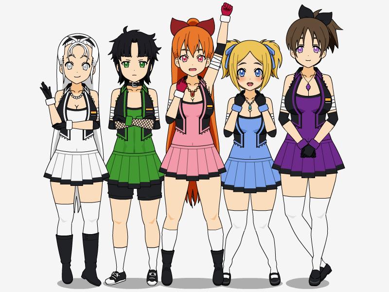 The Powerpuff Girls by C4PNshota