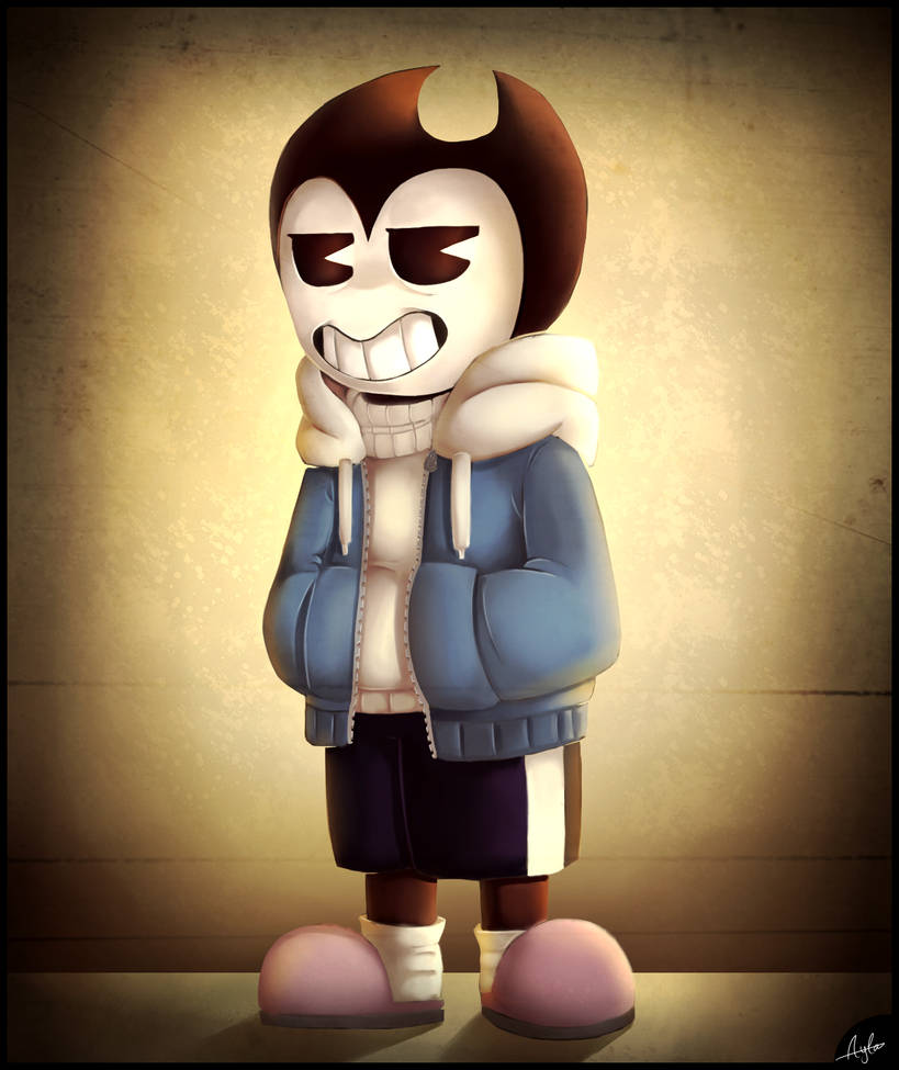 Bendy/Sans Crossover By Oszvalt100 On DeviantArt