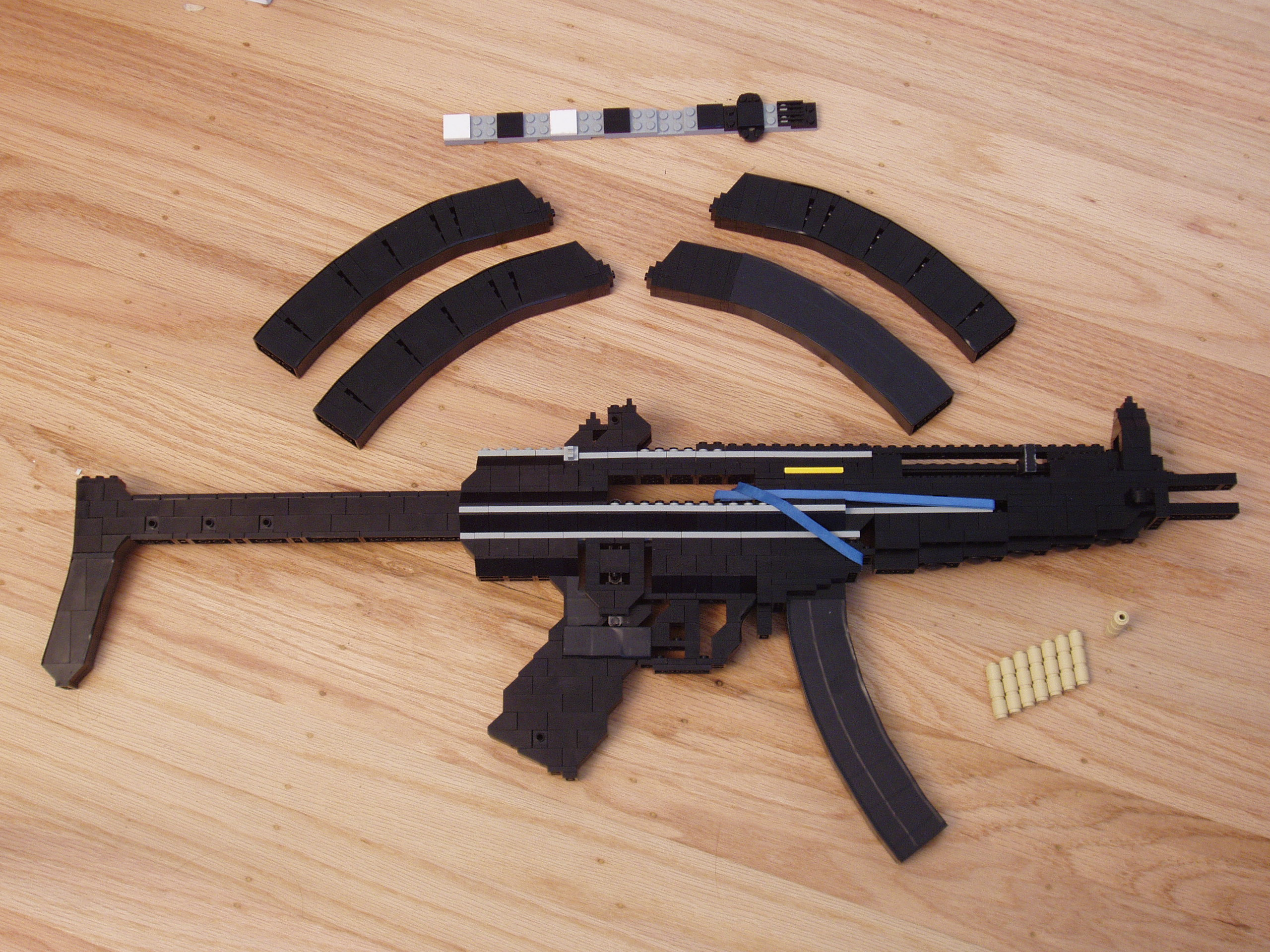 Heckler and Koch MP5 A5 - LEGO by xjcdentonx on DeviantArt