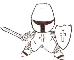 PoY Concept Art: Crusader by La-Bomba-Frita