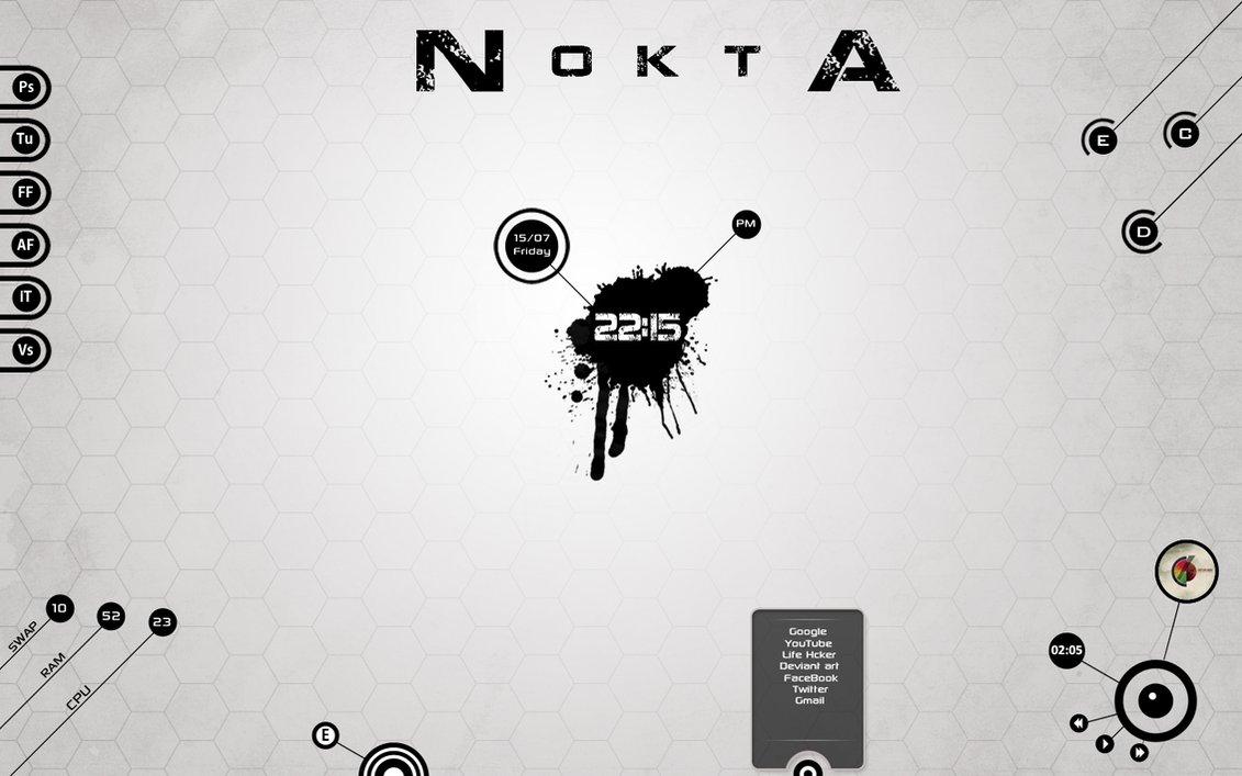 N o k t A Desktop by DarknesFreak