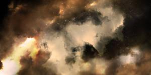 Pelican Nebula by DarknesFreak
