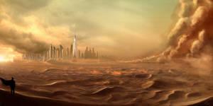 Storm in Dubai