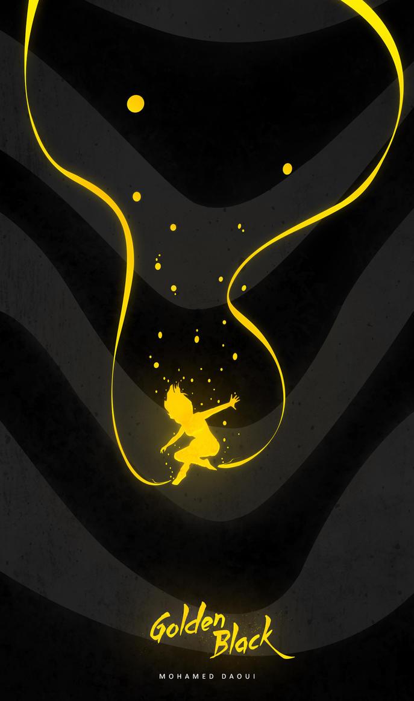 Golden Black by DarknesFreak