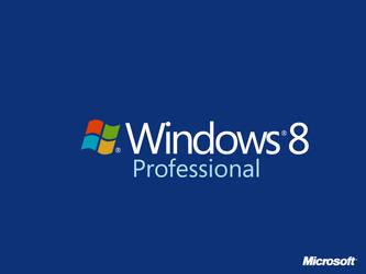 Windows 8 Box Art Professional by Randydorney