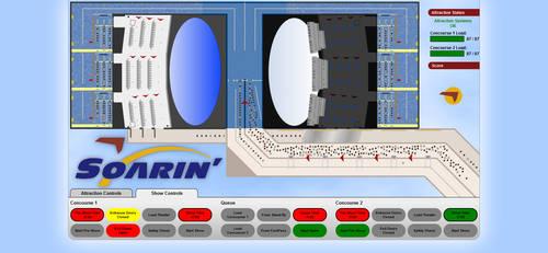 Disney's Soarin HTML5 Simulation by Randydorney