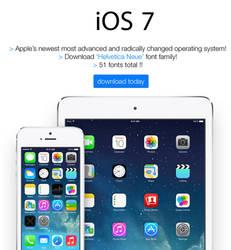iOS 7 Font Promo by Randydorney