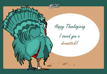 Happy Thanksgiving 2013 by ellysketchit