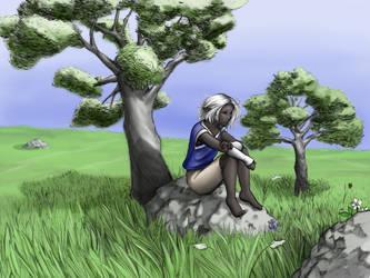 Solitude by slyeagle