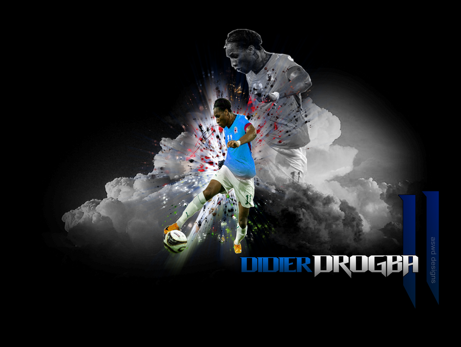 didier drogba wallpaper. Didier Drogba Wallpaper by