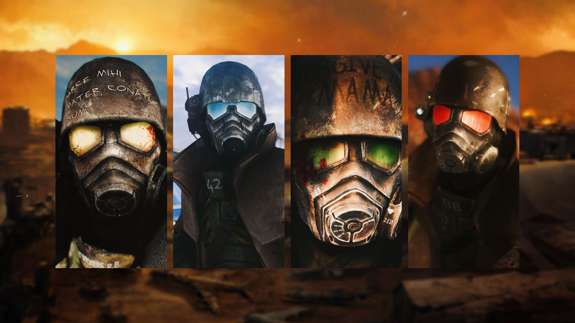 Fallout New Vegas Ncr Veteran Ranger Wallpaper 4k By
