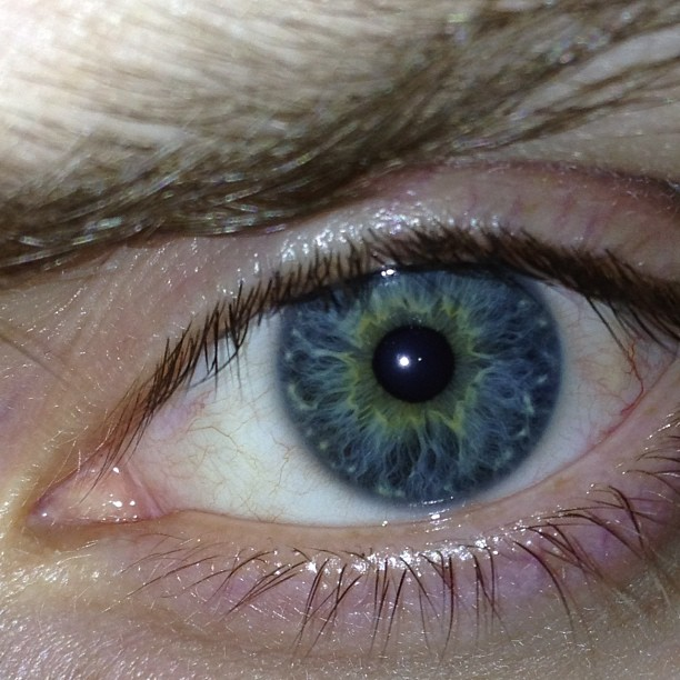 Blue and yellow green