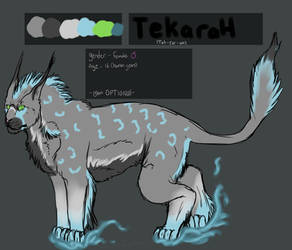Tekarah Reference sheet by Allixi