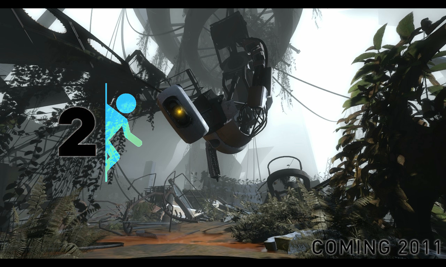 portal wallpaper 2. Portal 2 Wallpaper by ~Zuryan
