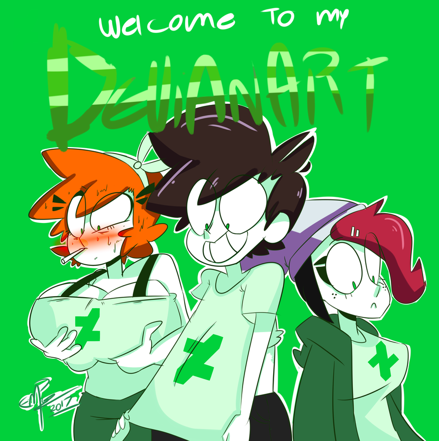 Welcome to my devianart by F-TOONS