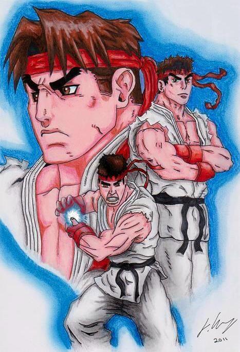 Ryu by Joker-laugh
