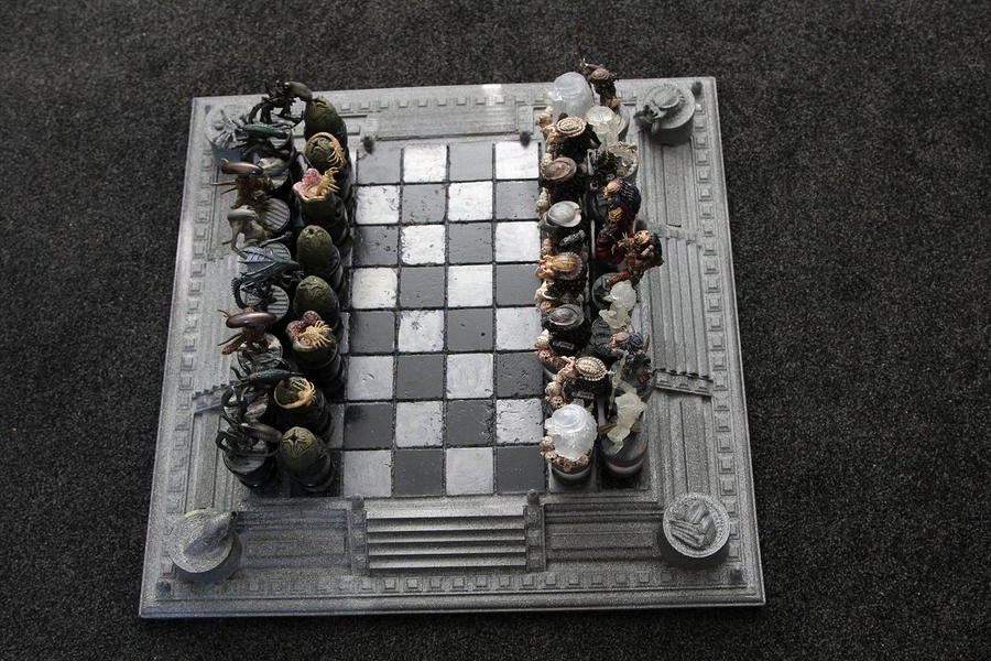 AVP Chess Set by Joker-laugh