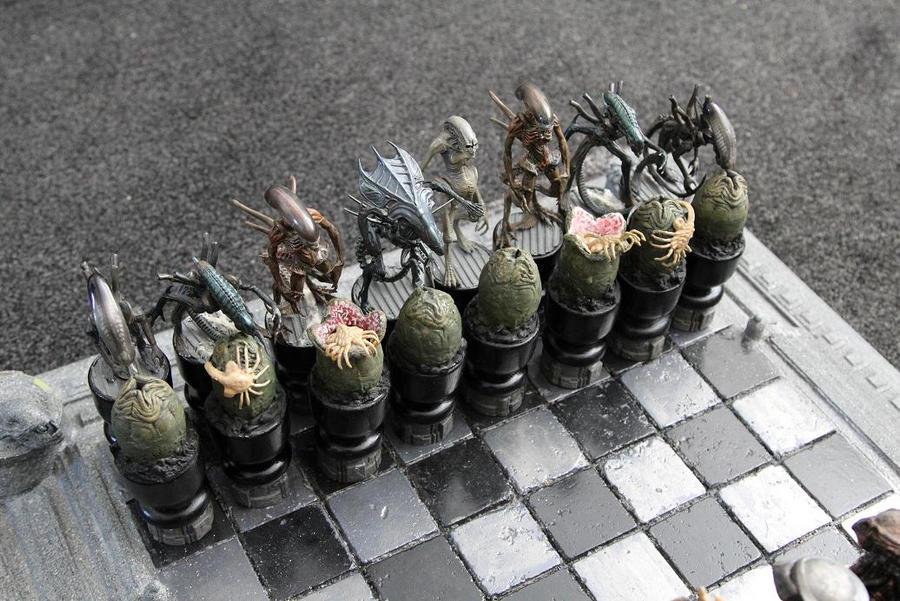 AVP Chess Set by Joker-laugh