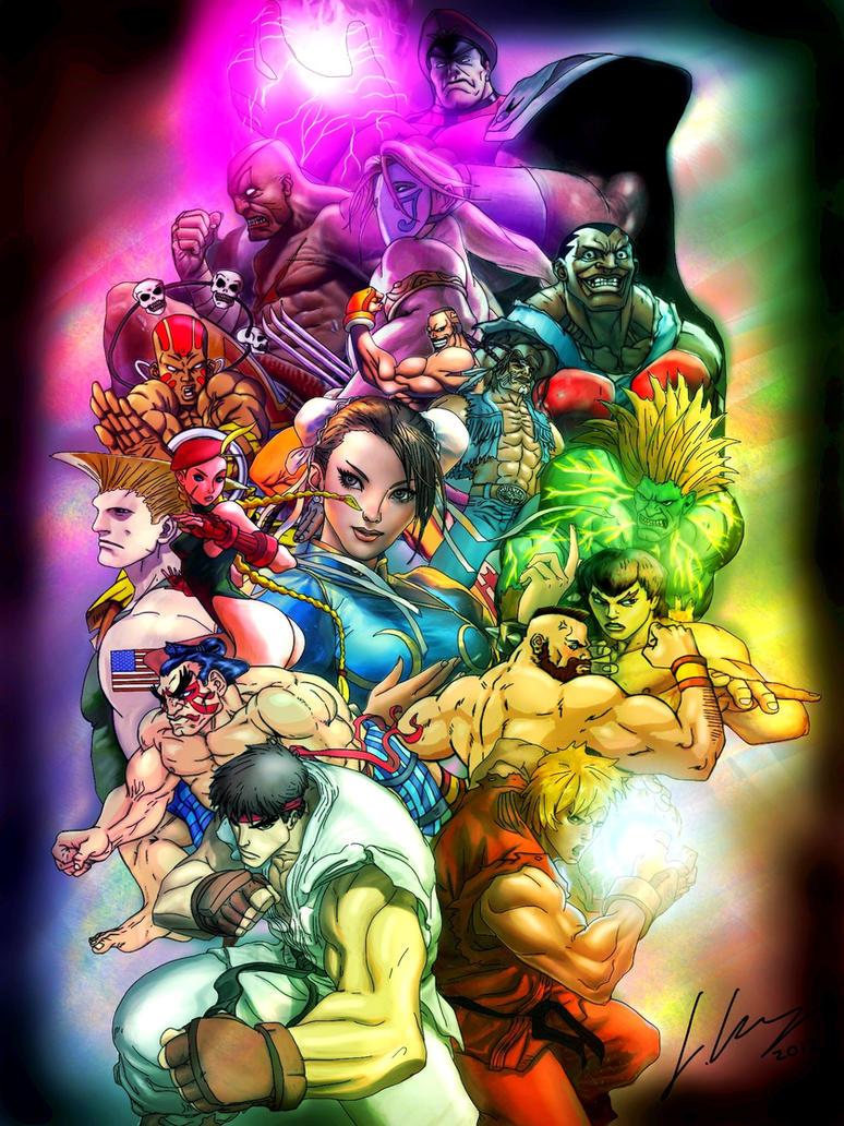 Super Street Fighter 2 by Joker-laugh