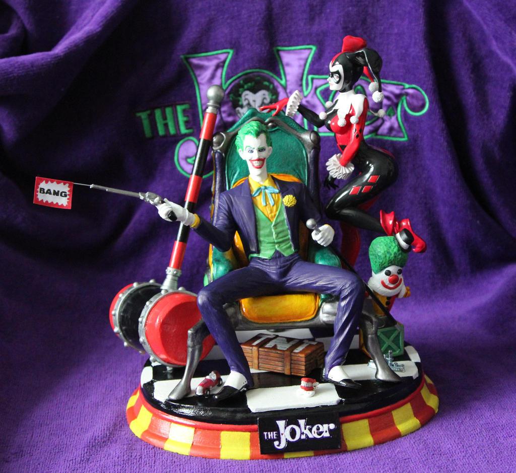 Joker and Harley by Joker-laugh