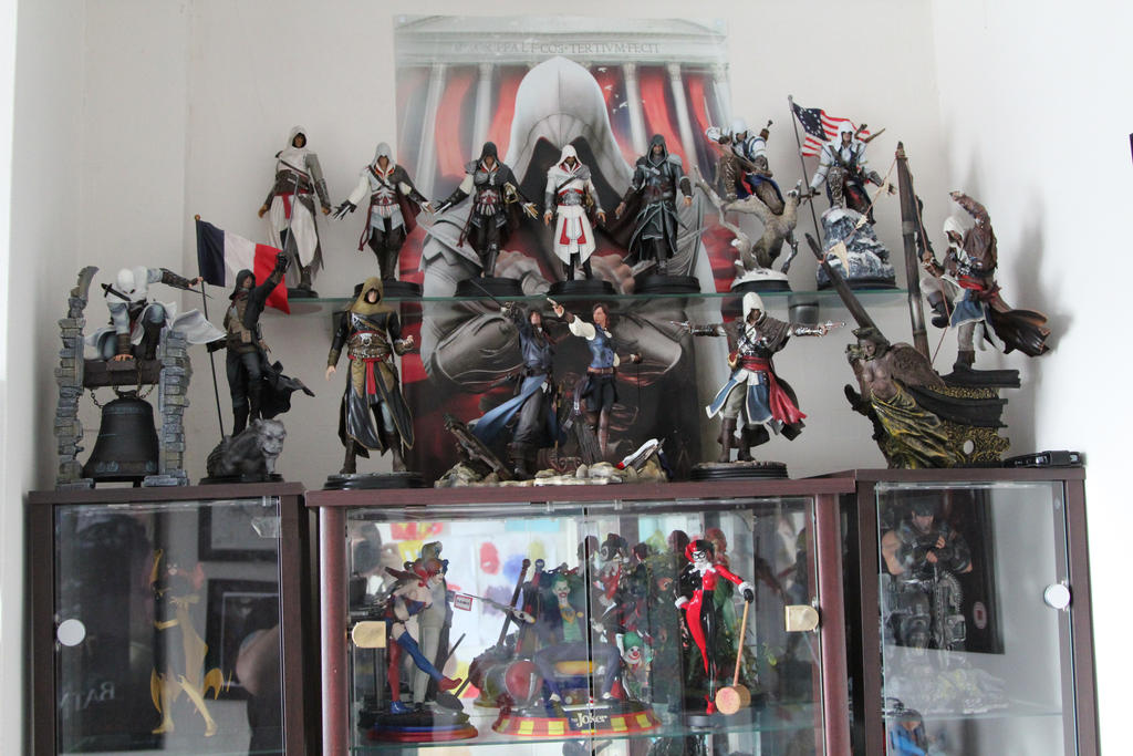 My Assassin's Creed Collection. by Joker-laugh