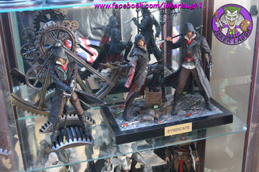 Assassin's Creed Syndicate Shelf by Joker-laugh