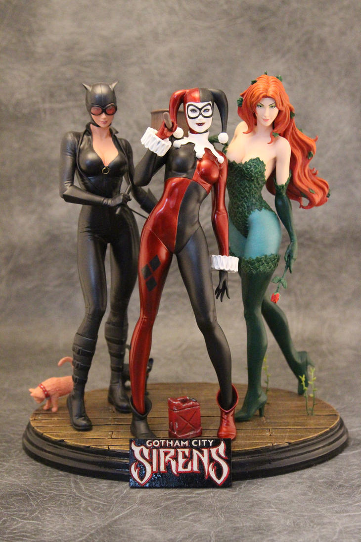 Gotham City Sirens. by Joker-laugh