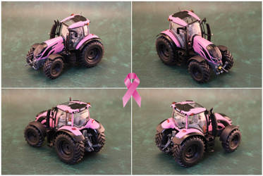 Breast Cancer Pink Tractor.