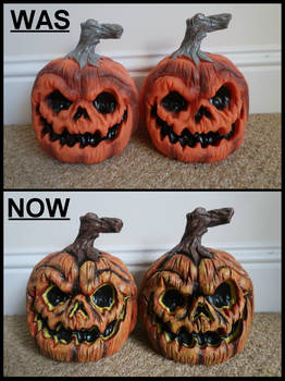 Pumpkins Was and Now