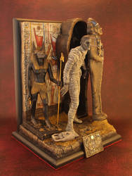 The Mummy (Boris Karloff) Diorama