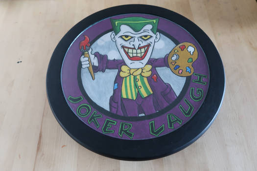Joker Laugh Logo Turntable