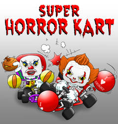 Horror Kart Balloon Battle!