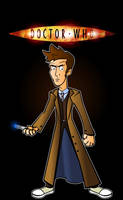 The 10th Doctor by CPD-91
