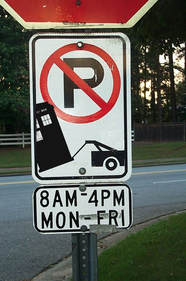 Tardis no parking by CPD-91