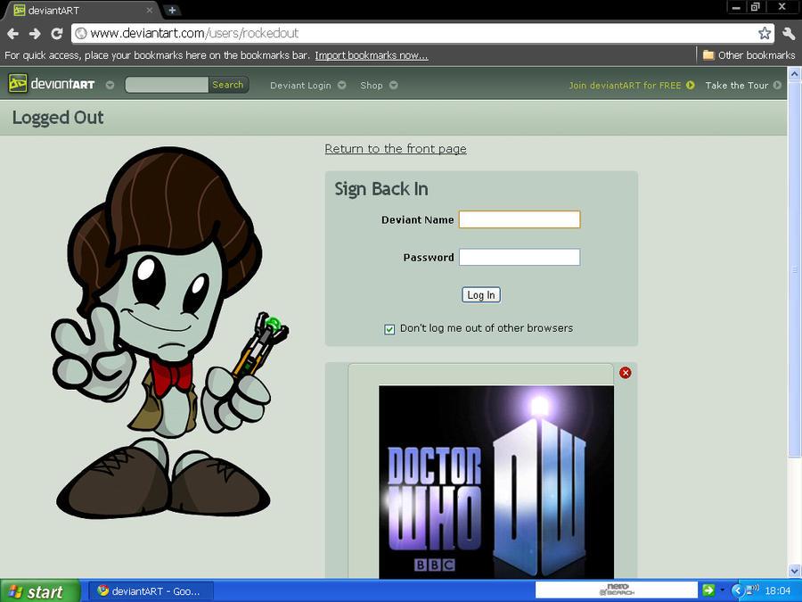 Doctor who deviantart log in by CPD-91 on DeviantArt