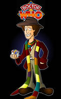 The 4th Doctor by CPD-91