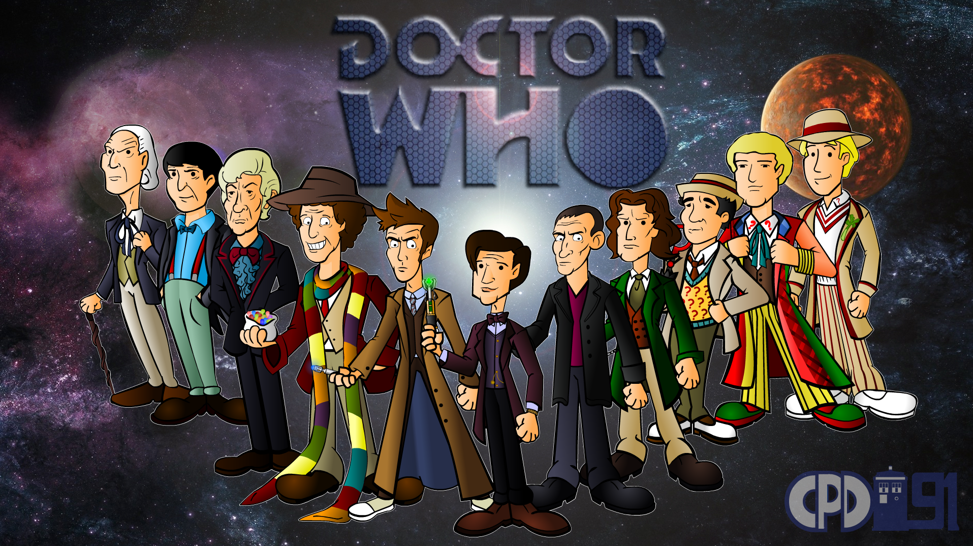 The 11 Doctors By Cpd 91 On Deviantart