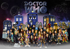 Doctor Who 50th Anniversary by CPD-91