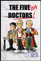 The Five ish Doctors by CPD-91