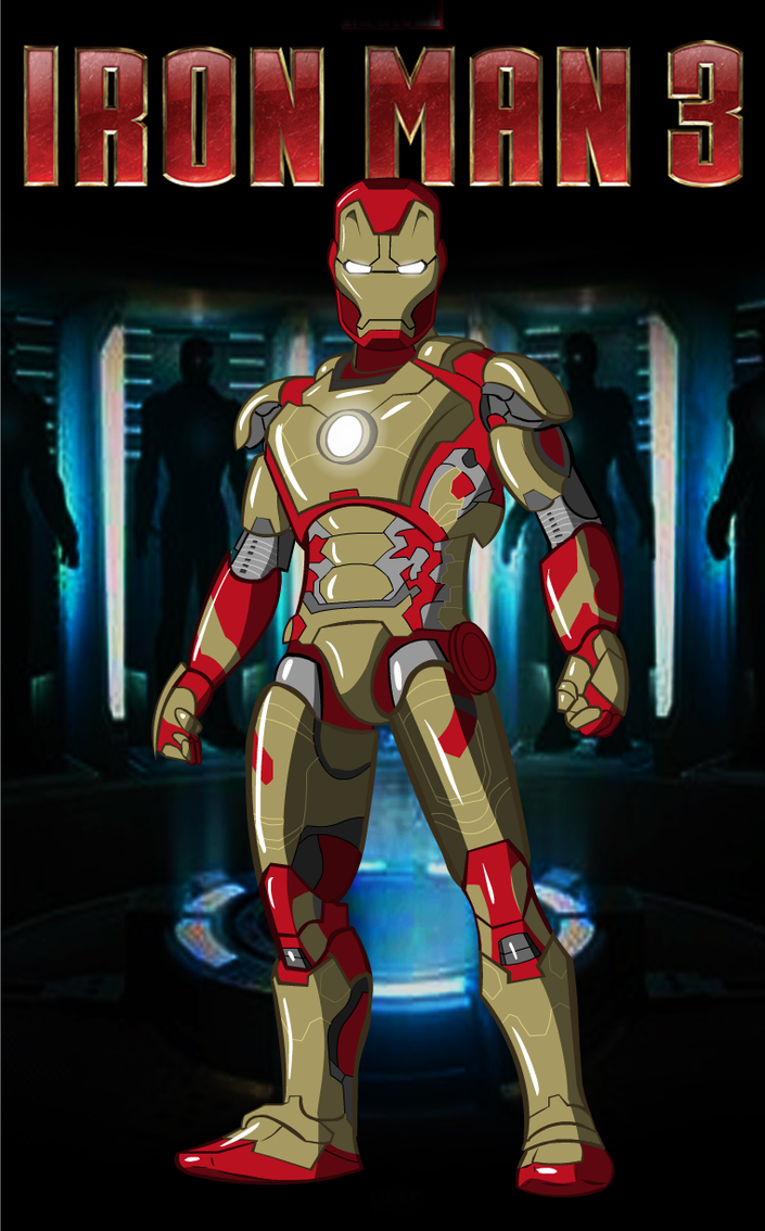 Iron Man 3 by CPD-91