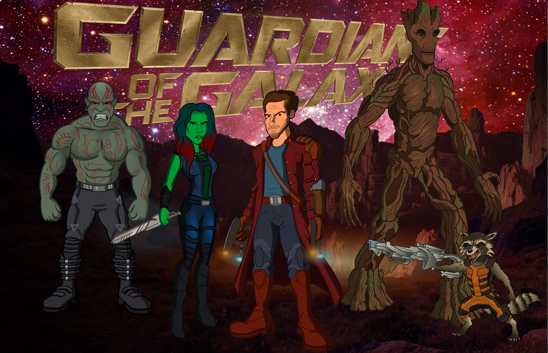 Guardians of the Galaxy by CPD-91