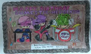 Gift:: Happy Birthday Domestic-hedgehog