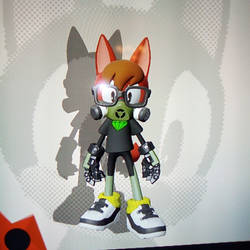 Dino in Sonic Forces