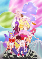 No Game No Life - ''   '''s Party by Thothslibrary